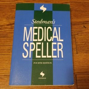 Stedman's Medical Speller Book 4th Edition
